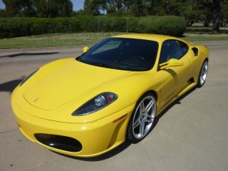 2005 Ferrari F430 Yellow Black 42k Excellent Tires Serviced photo
