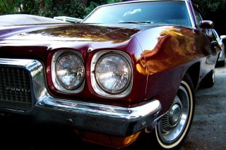1970 Pontiac Tempest Base 5.  7l Red photo