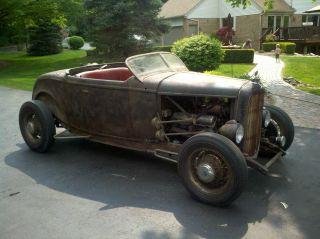 1932 Ford Roadster Rat Rod Hot Rod Scta photo