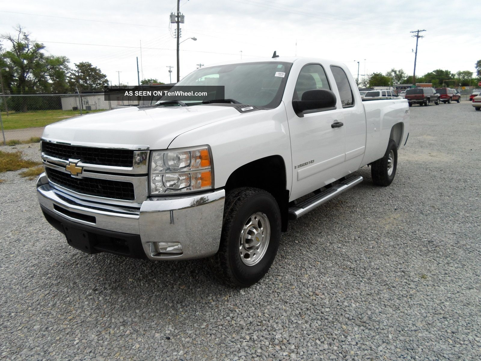 2007 chevrolet silverado hd 2500 lt 4x4 extended cab. Black Bedroom Furniture Sets. Home Design Ideas