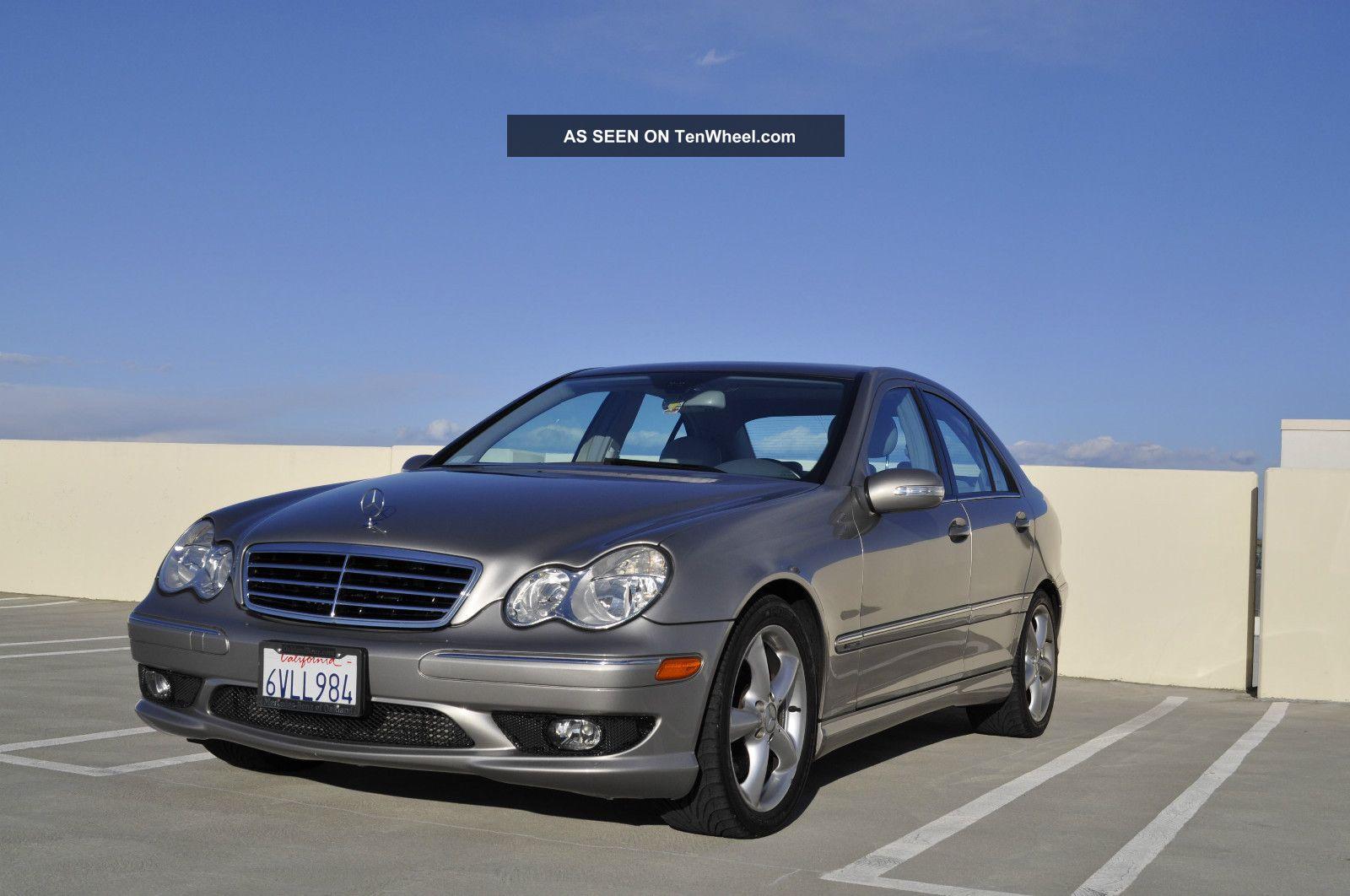 2005 Mercedes Benz C230 Kompressor Sedan 4 Door 1 8l
