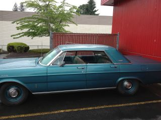 1965 Ford Galaxie 500 Base 5.  8l Hardtop Model 352v8 Auto photo