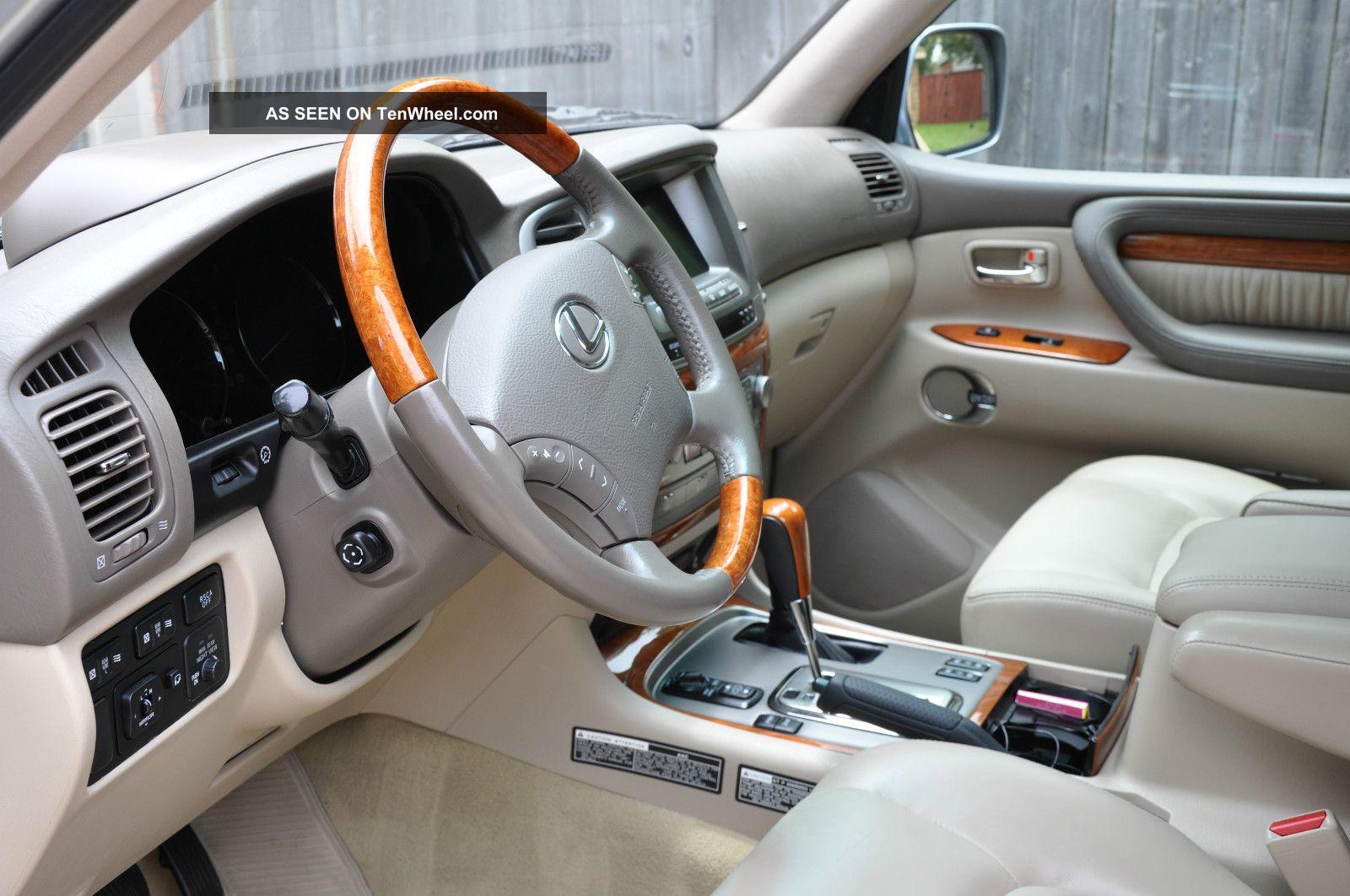 2004 Lexus Lx470 Base Sport Utility 4 Door 4 7l