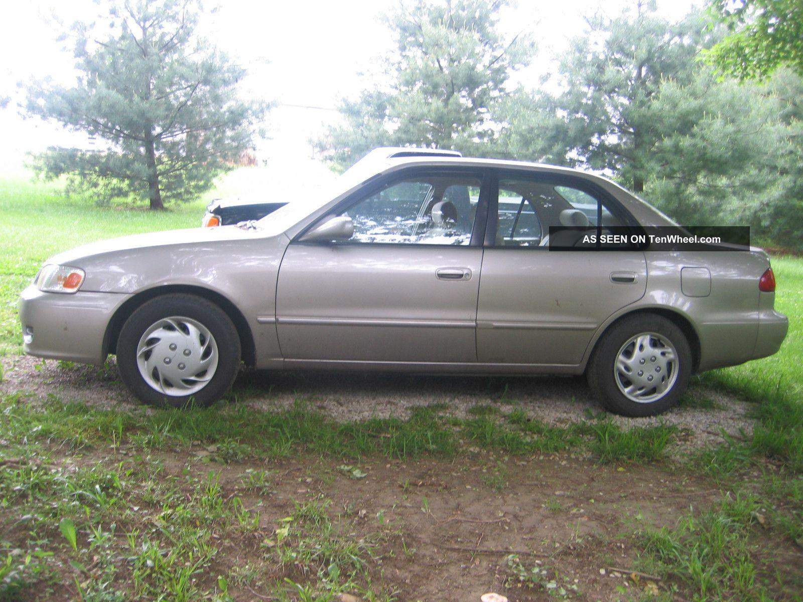 2001 Toyota Corolla Ce Specs