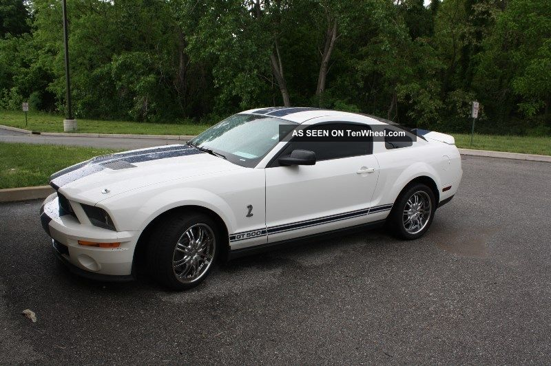 2008 Ford Mustang Shelby Gt500 Coupe 2 - Door 5.  4l Mustang photo