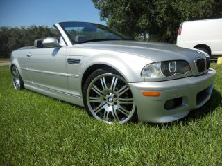 2004 Bmw M3 Base Convertible Sport Package And Winter Package 2 - Door 3.  2l photo