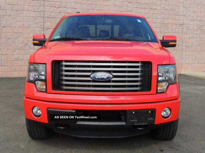 2011 ford f 150 fx4 crew cab pickup 4 door 3 5l. Black Bedroom Furniture Sets. Home Design Ideas