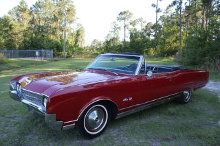 1966 Oldsmobile Ninety - Eight Rocket 98 Convertible 425 Make Offer_load 77+ Pict. photo
