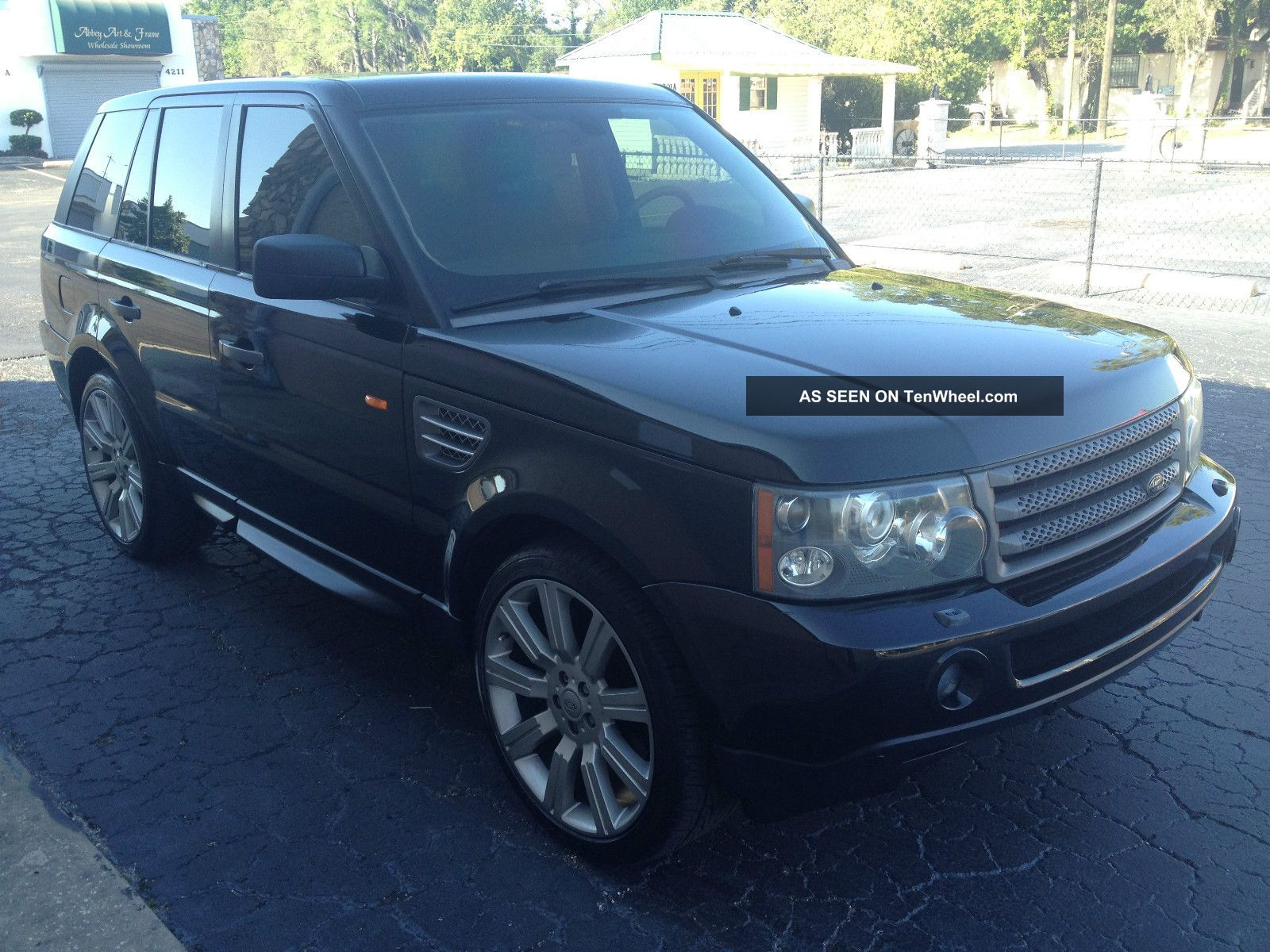 2006 land rover range rover sport hse sport charged. Black Bedroom Furniture Sets. Home Design Ideas