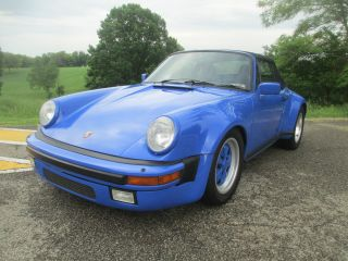 1983 Porsche 911 Sc Convertible 2 - Door 3.  0l photo