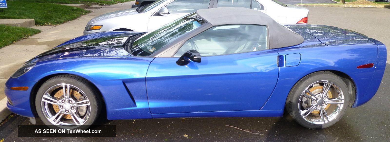 2008 Chevy Corvette Convertible Corvette photo
