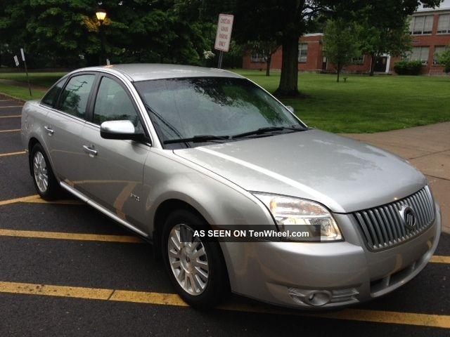 2008 Mercury Sable Sedan 4 Door 3 5l