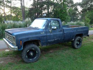 1980 K20 Chevrolet 3 / 4ton Mud Truck Hunting Truck Farm Truck Work Truck photo