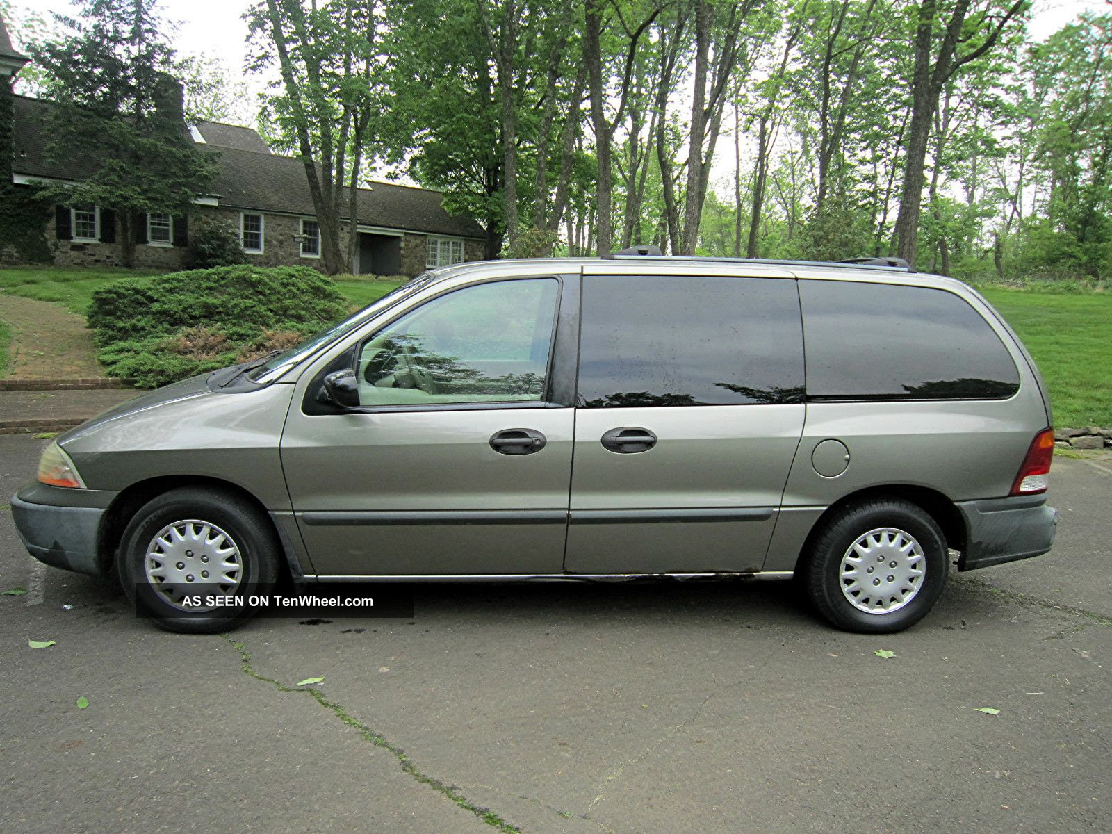 2001 ford windstar lx mini passenger van 4 door 3 8l. Black Bedroom Furniture Sets. Home Design Ideas