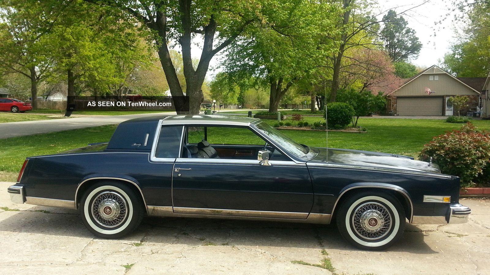 1984 Cadillac Eldorado Base Coupe 2 - Door 4. 1l