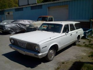 1966 Plymouth Valiant 4 Door Station Wagon photo