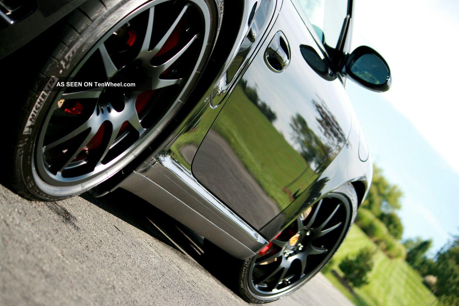 2008 Turbo Cabriolet Metallic Blk Carrera Gt Interior 1owner Low Mls Upgrades 911 photo