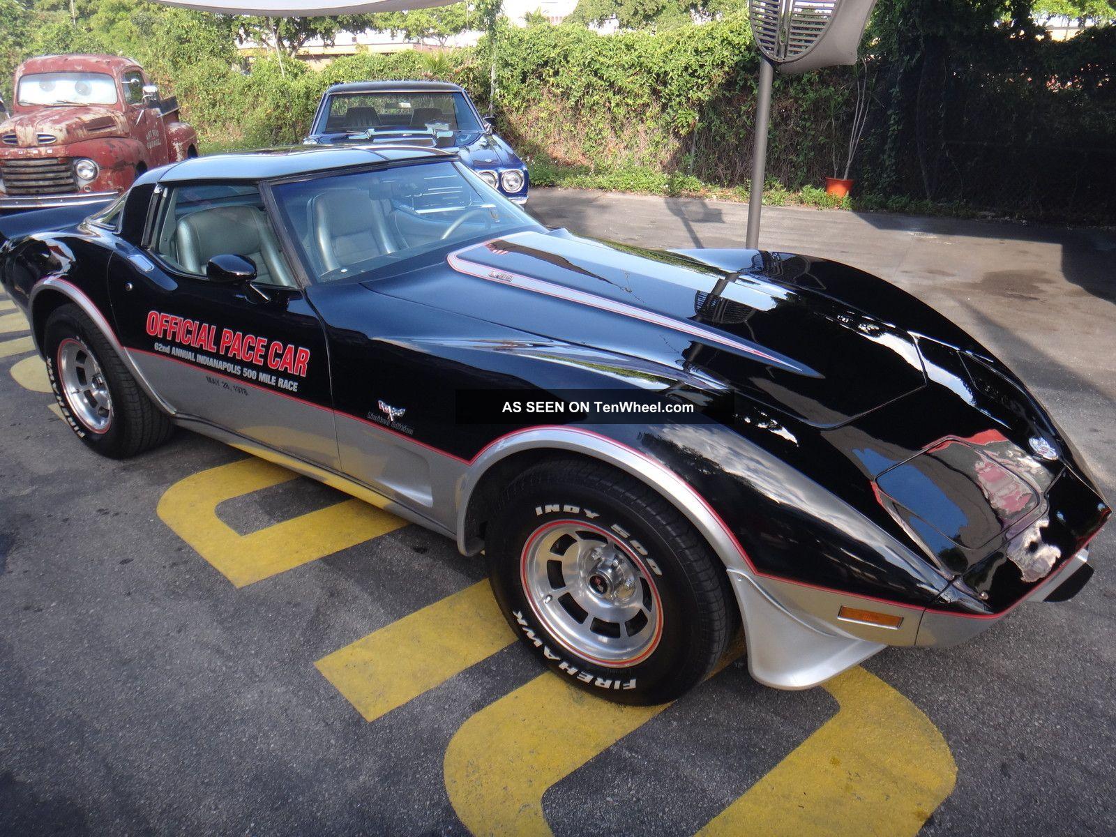 1978 Chevy Corvette Pace Car 4397 Show Car Cold A / C Corvette photo