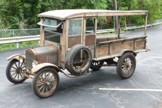 Rare 1923 Model Tt Huckster Truck.  In Previous Estate 60+ Years photo