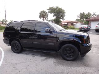 2010 Chevrolet Tahoe Blacked Out Dvd Players Show Truck Fl Suv Hot Truck photo