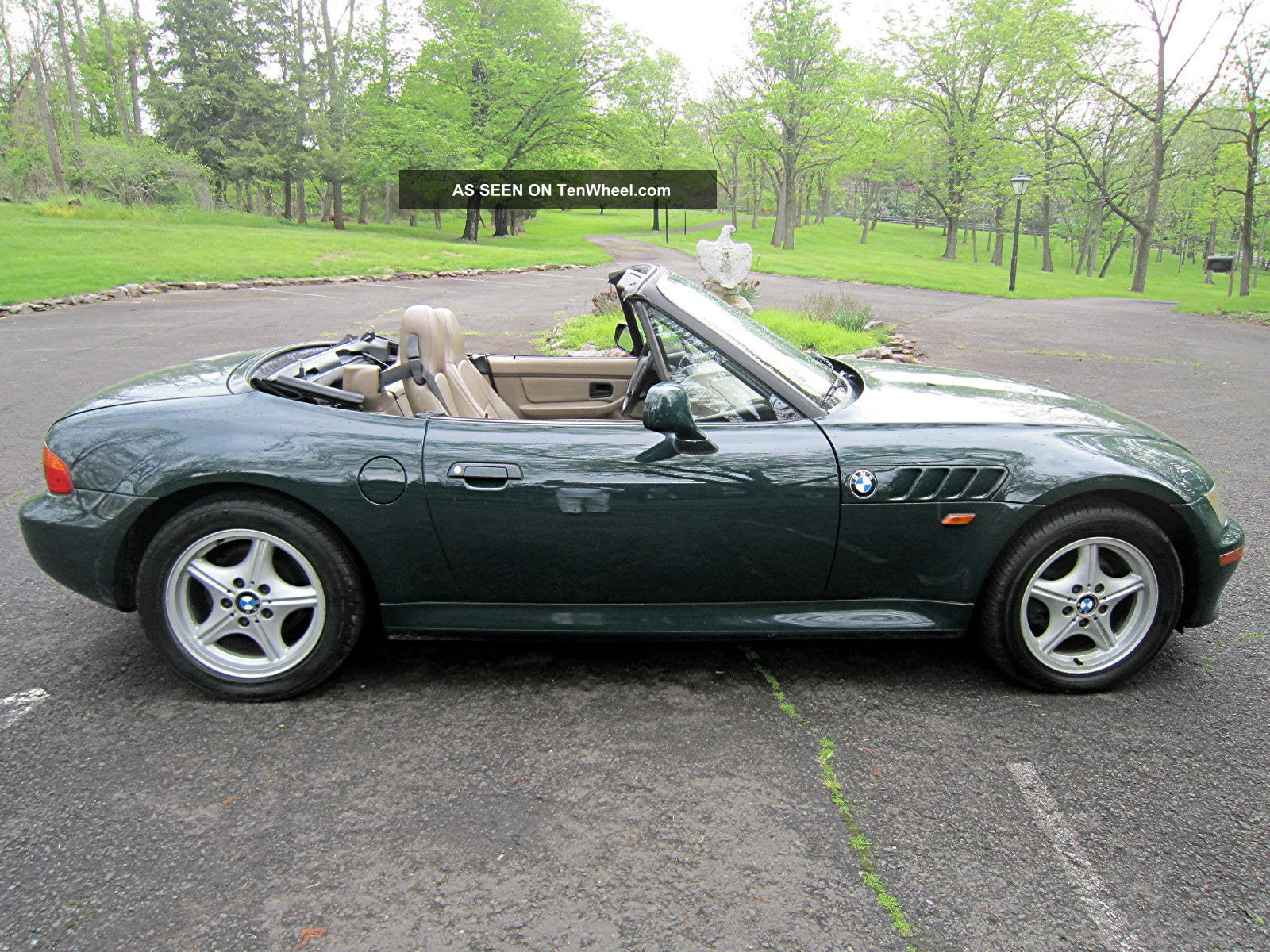 1997 Bmw Z3 Roadster Convertible 2 Door 1 9l With