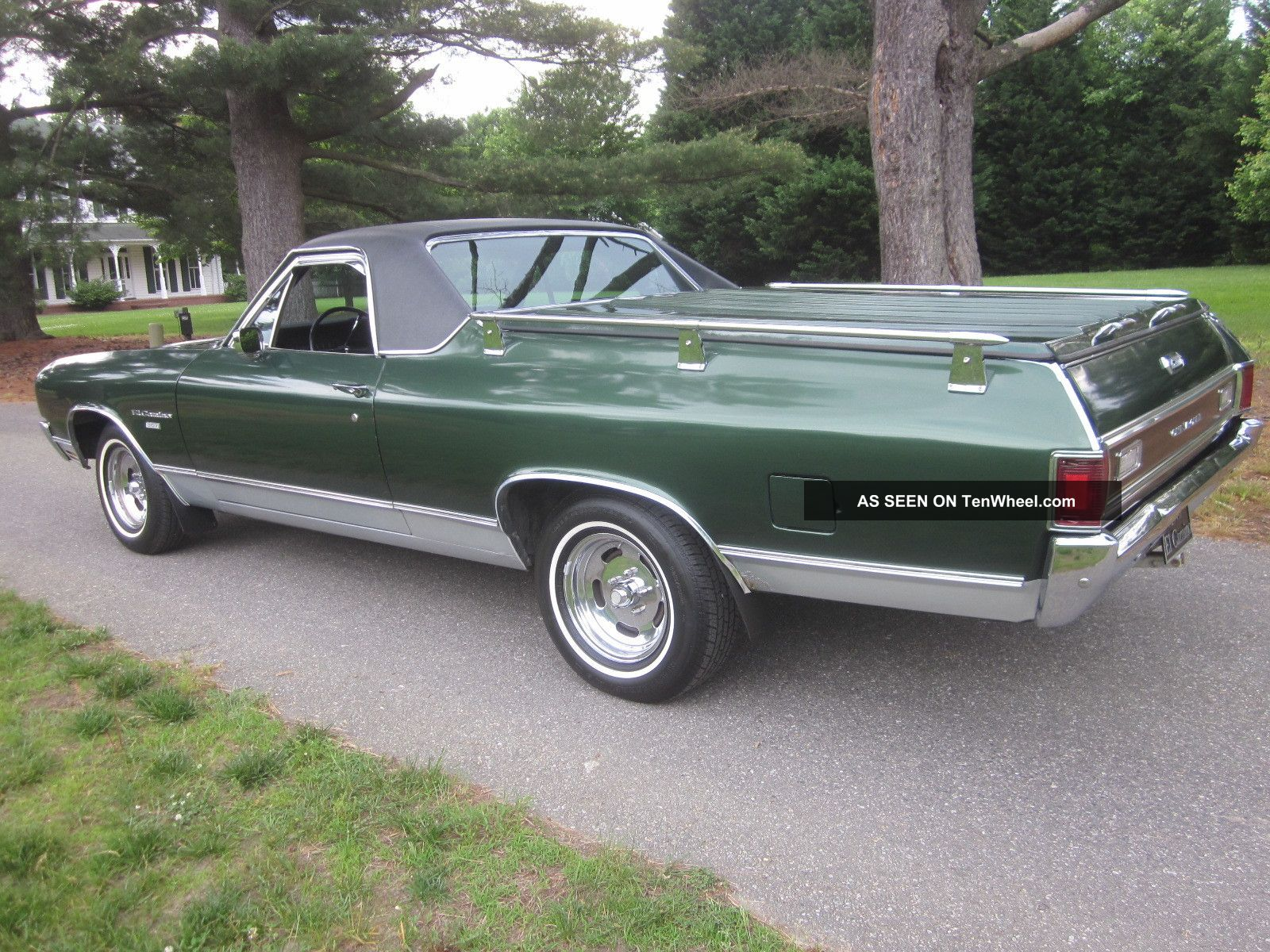 1970 Chevrolet El Camino Related Infomationspecifications Weili Gm Engine Lgw Car 307 Auto Last Owner 40yrs