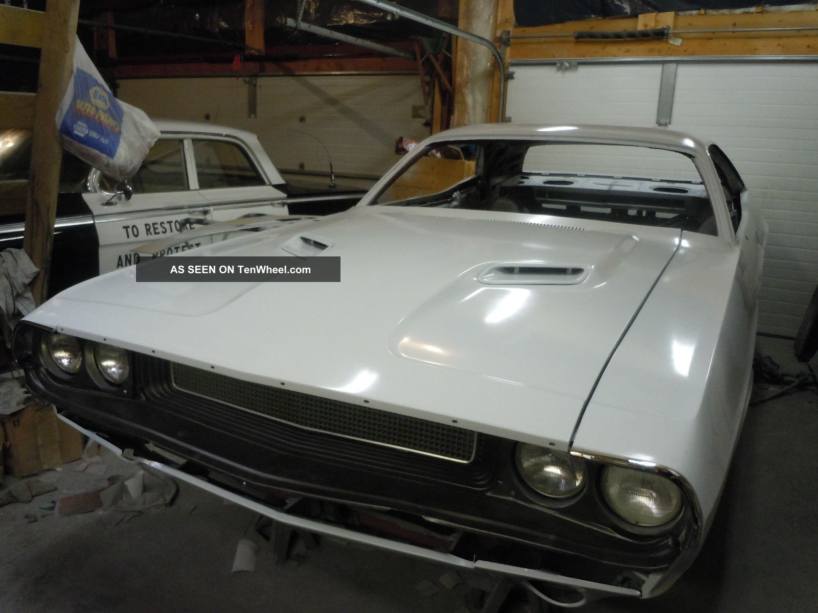 1970 Looking 1973 Dodge Challenger Half Finished Project Car. Challenger photo