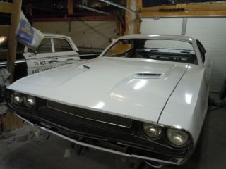 1970 Looking 1973 Dodge Challenger Half Finished Project Car. photo