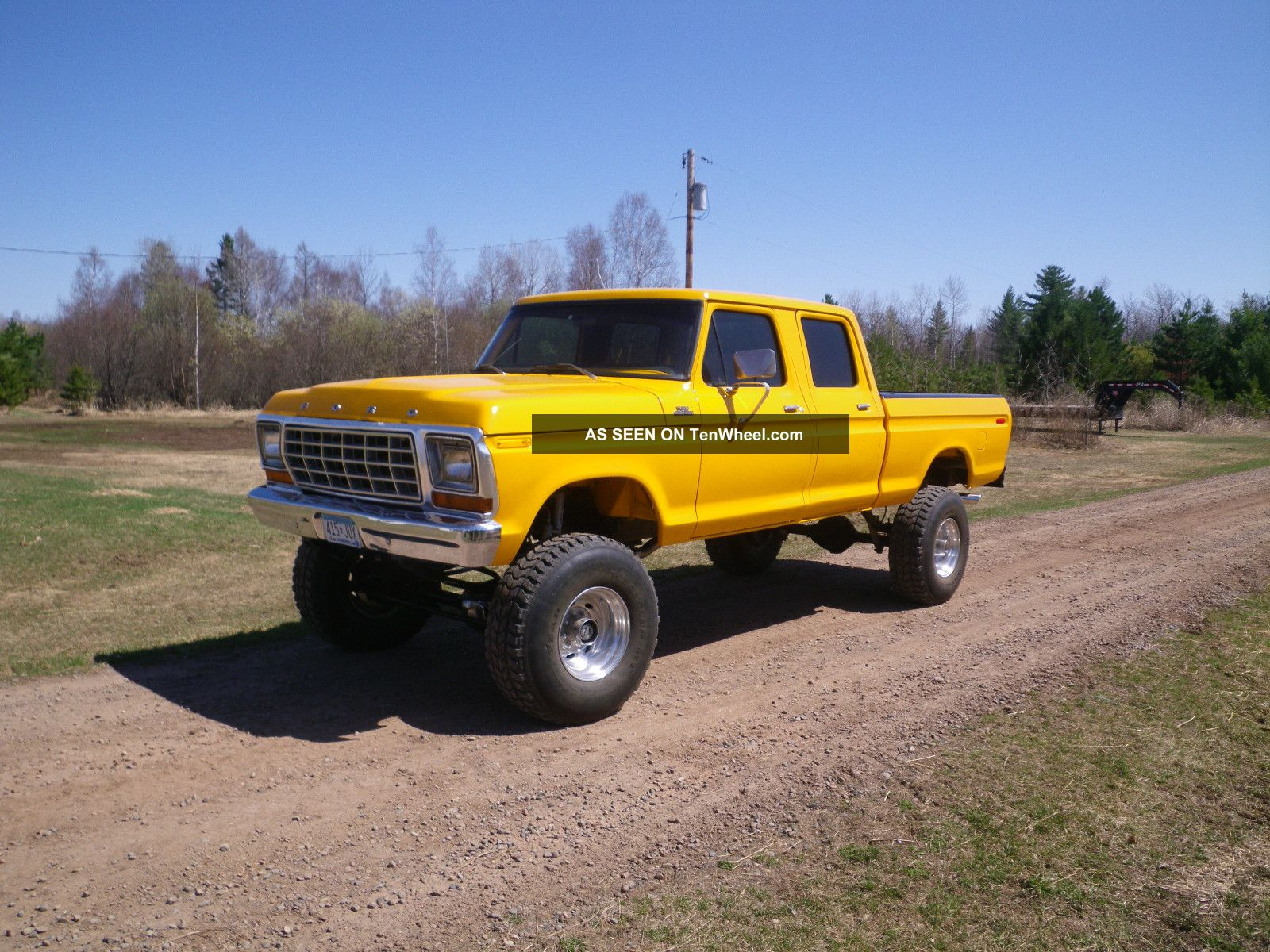 1979 Ford Crew Cab 4x4 F-250 photo