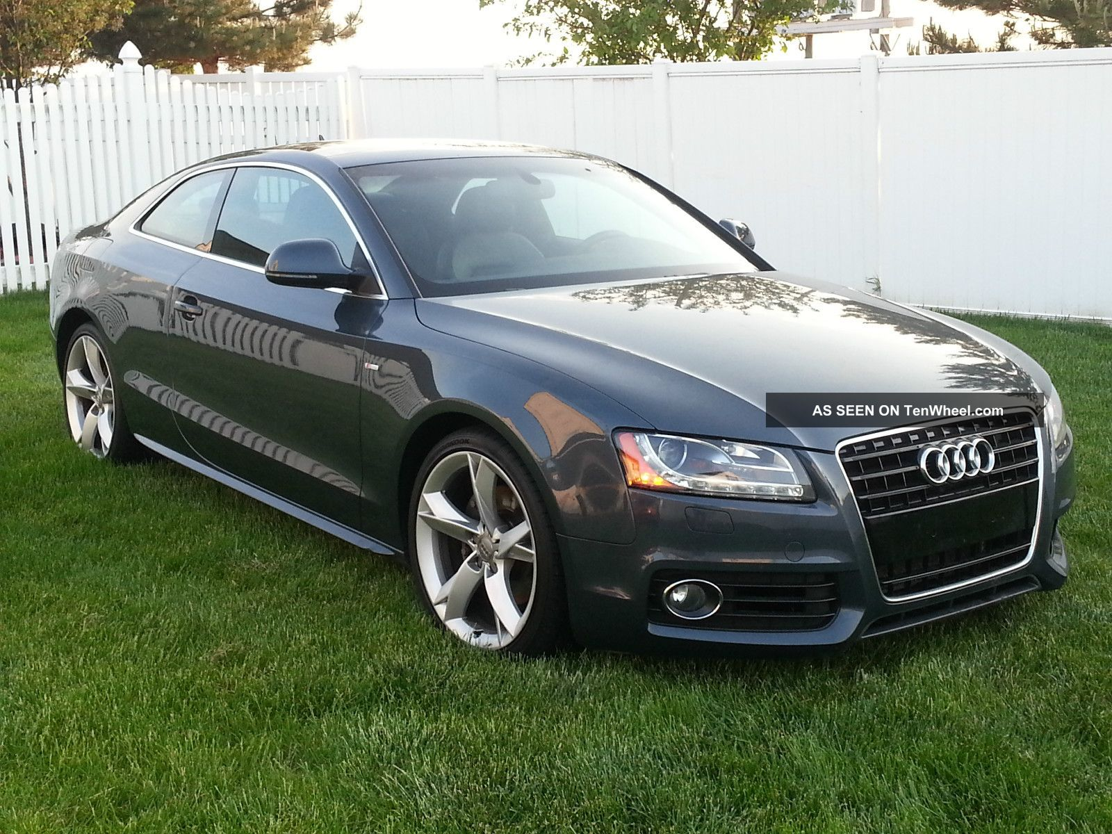 2009 audi a5 quattro base coupe 2 door 3 2l. Black Bedroom Furniture Sets. Home Design Ideas
