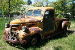 1941 Plymouth Pt - 125 Truck Vintage,  Rare Plymouth photo