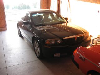 2000 Lincoln Ls 5 Speed Stick Shift Black On Black photo
