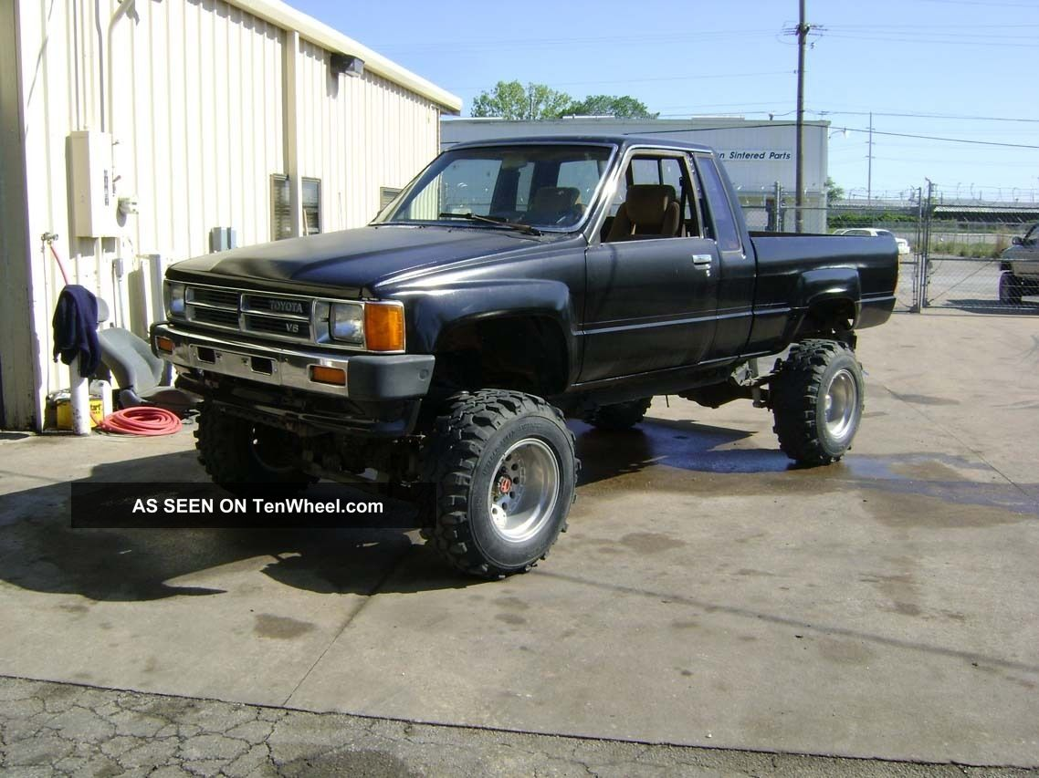 1986 V8 Toyota Pickup 4x4 Ex Cab Bad Boy Toy 4cam 32valves Other photo