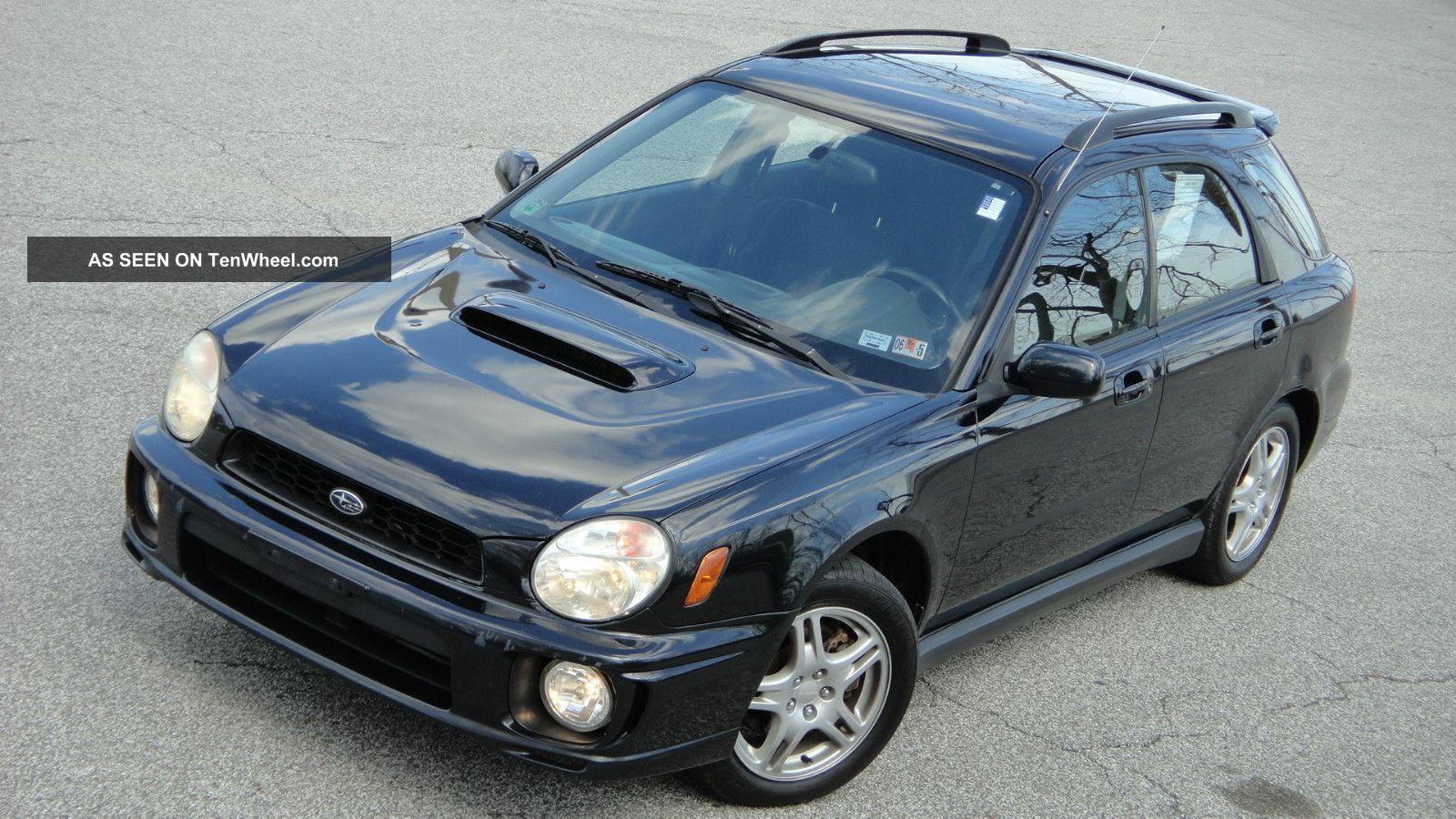 - 2003 Subaru Impreza Wrx Sport Wagon 4 - Dr 2.  0l Turbo Awd Manual - Impreza photo