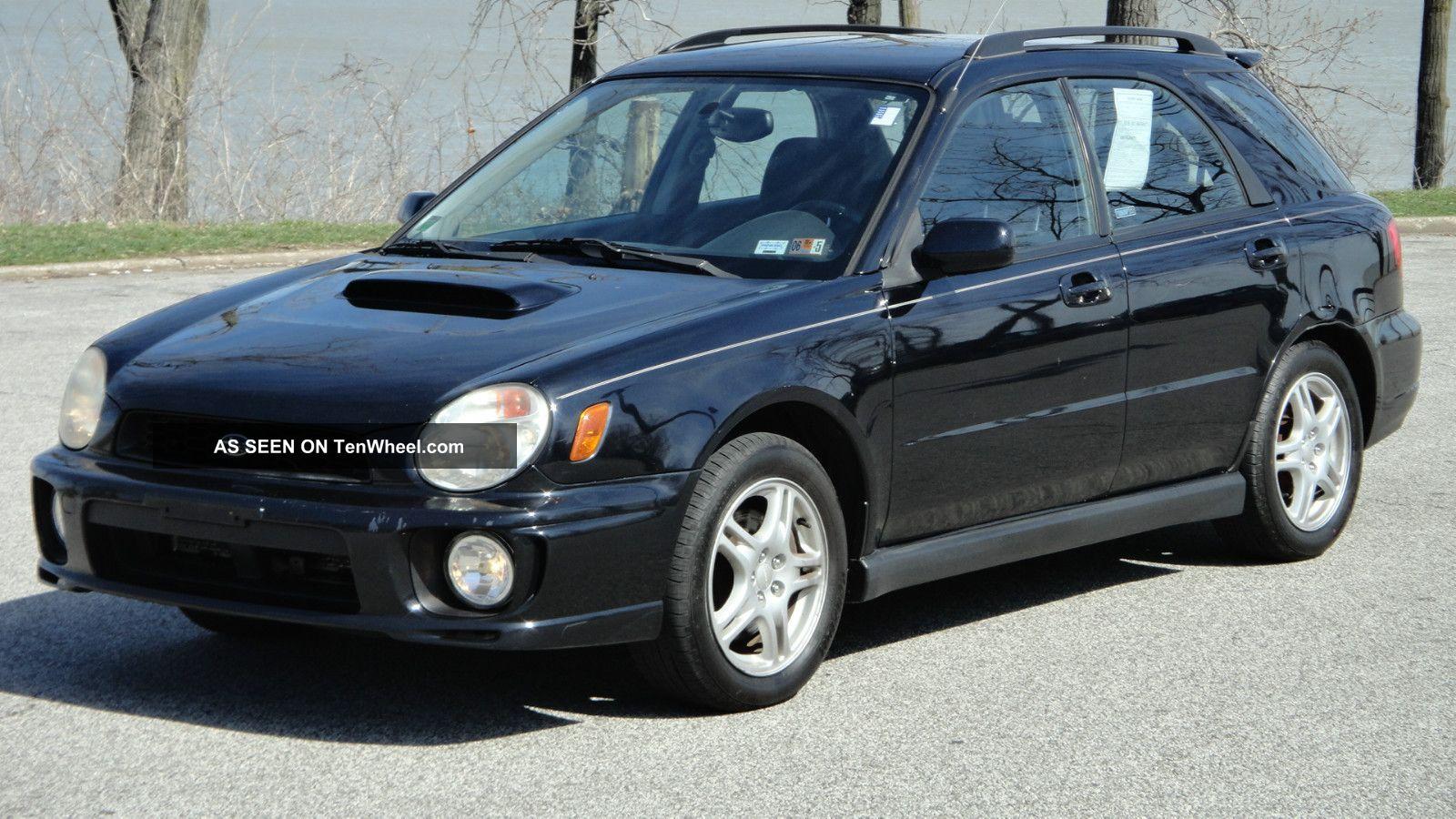 2003 subaru impreza wrx sport wagon 4 dr 2 0l turbo awd manual
