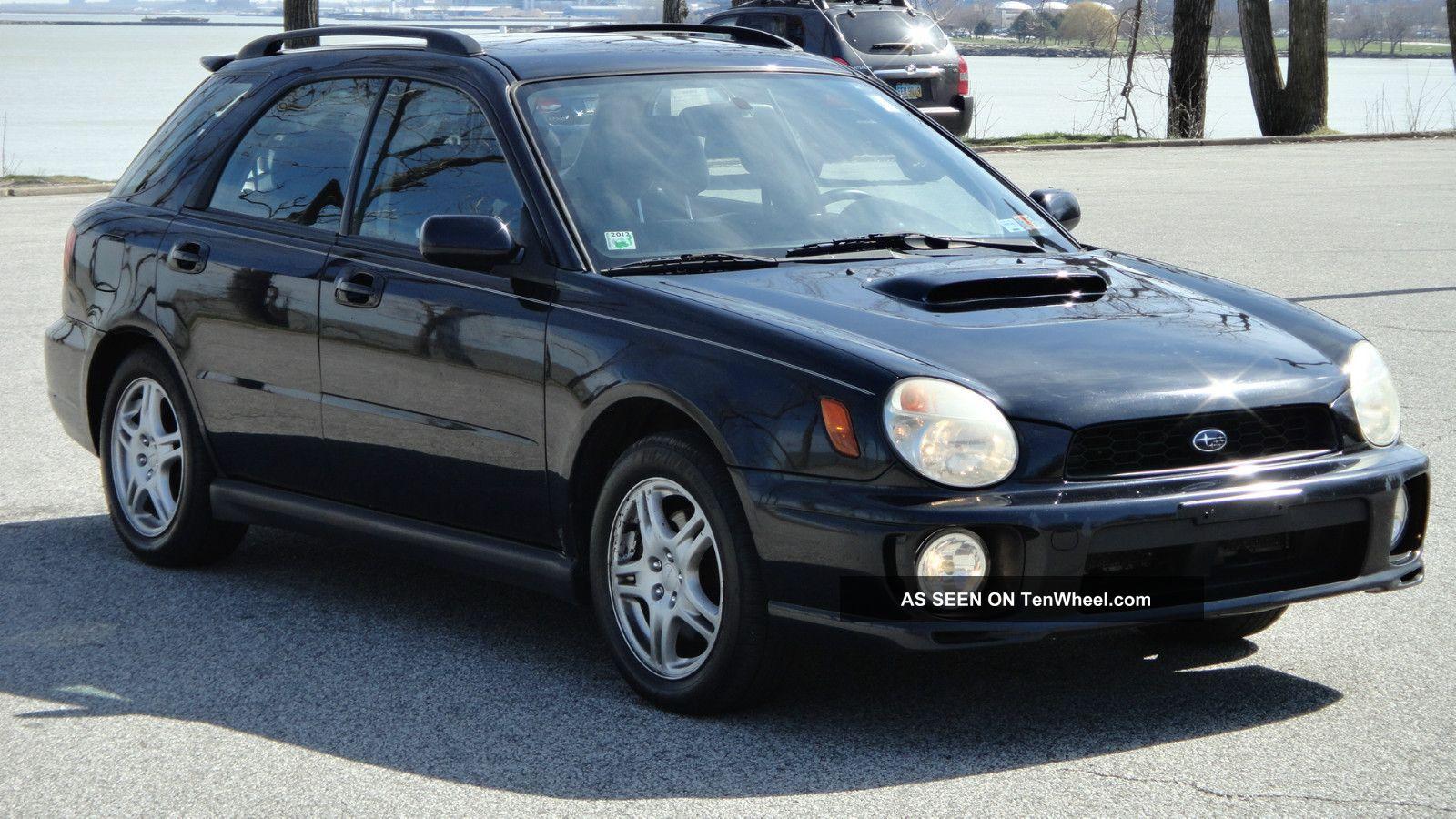 2003 Subaru Impreza Wrx Sport Wagon 4 Dr 2 0l Turbo Awd Manual Ford Taurus
