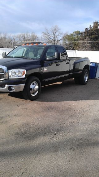 2007 Dodge Ram 3500 Slt Quad Cab Drw Dually Cummins 6.  7l 6sp Engine Brake photo