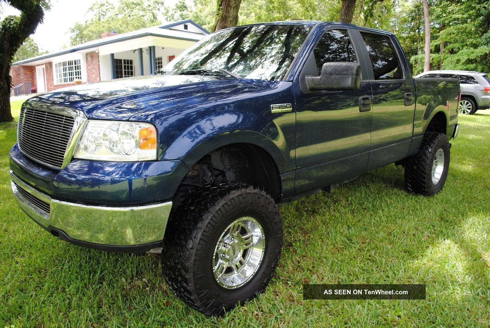2007 Ford F 150 Xlt Crew Cab Pickup 4 Door 5 4l Lifted Fax