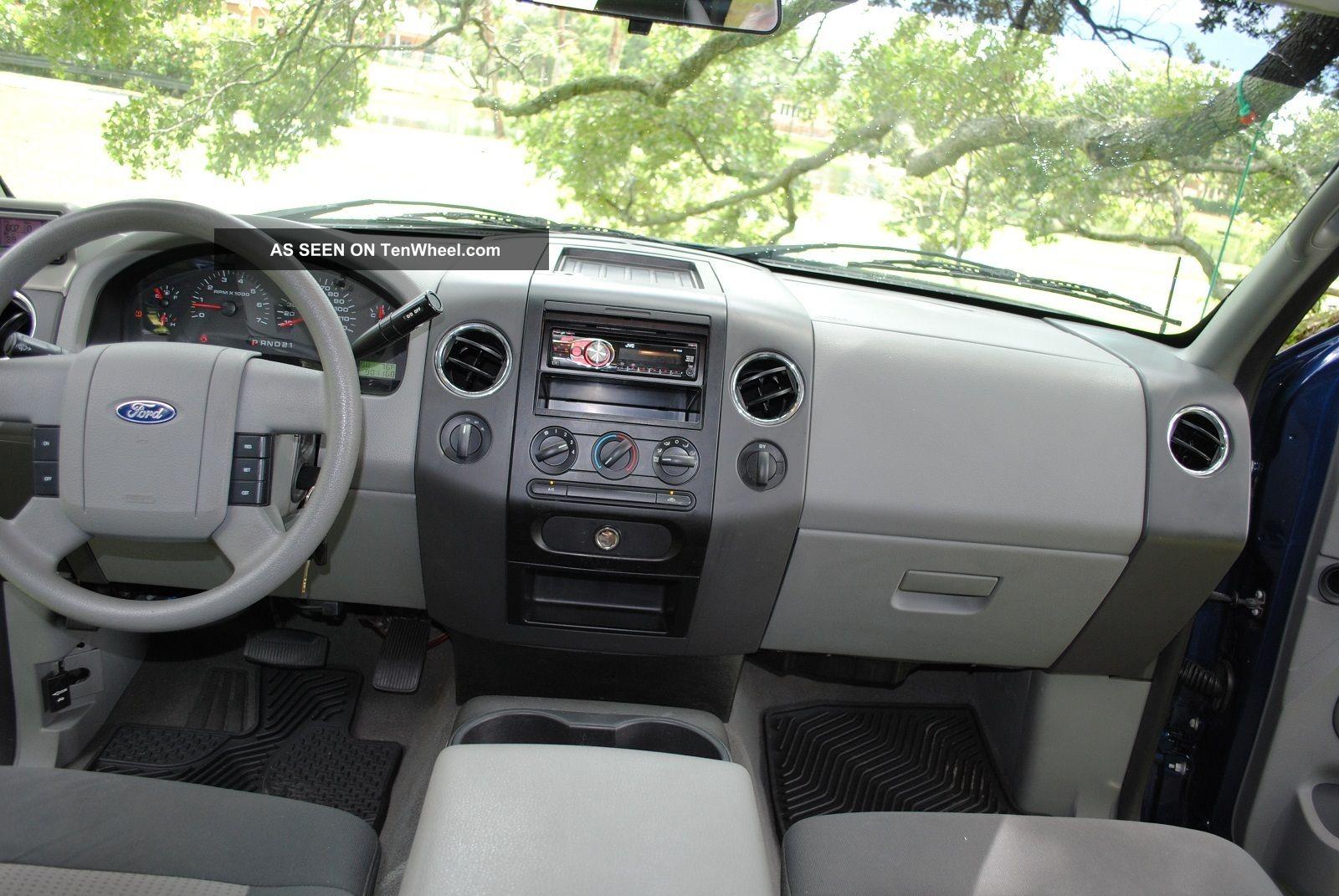 2007 Ford F 150 Xlt Crew Cab Pickup 4 Door 5 4l