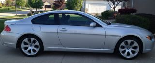 2005 Bmw 645ci Sports Package 2 - Door 4.  4l photo