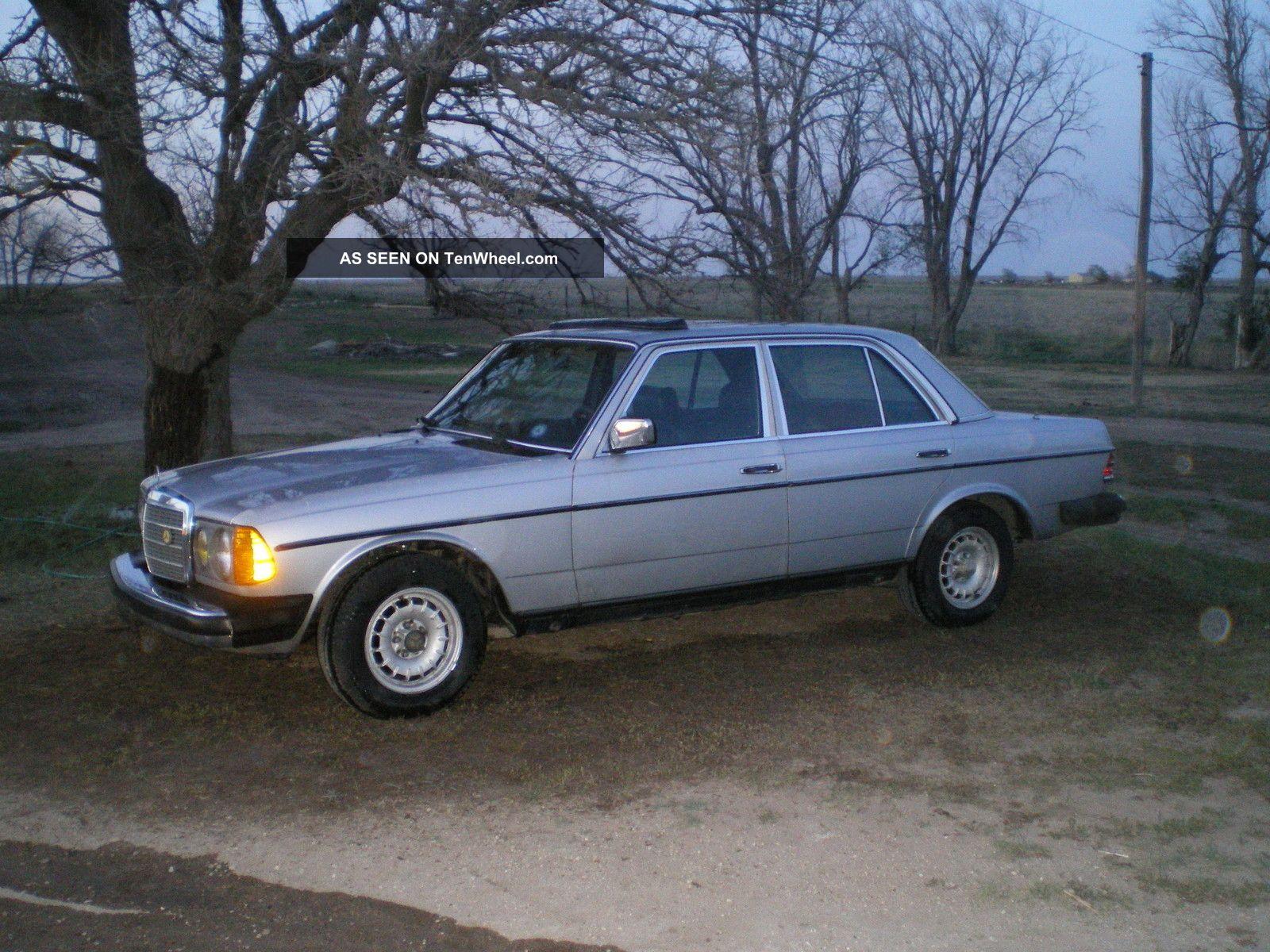 1982 mercedes turbo diesel 300d luxury car. Black Bedroom Furniture Sets. Home Design Ideas