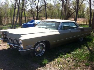 1967 Cadillac Deville Base Hardtop 4 - Door 7.  0l photo