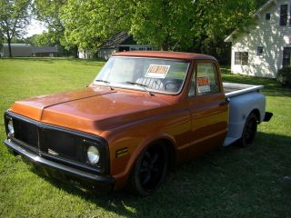 1972 Chevy Stepside Pickup Project Road Ready photo