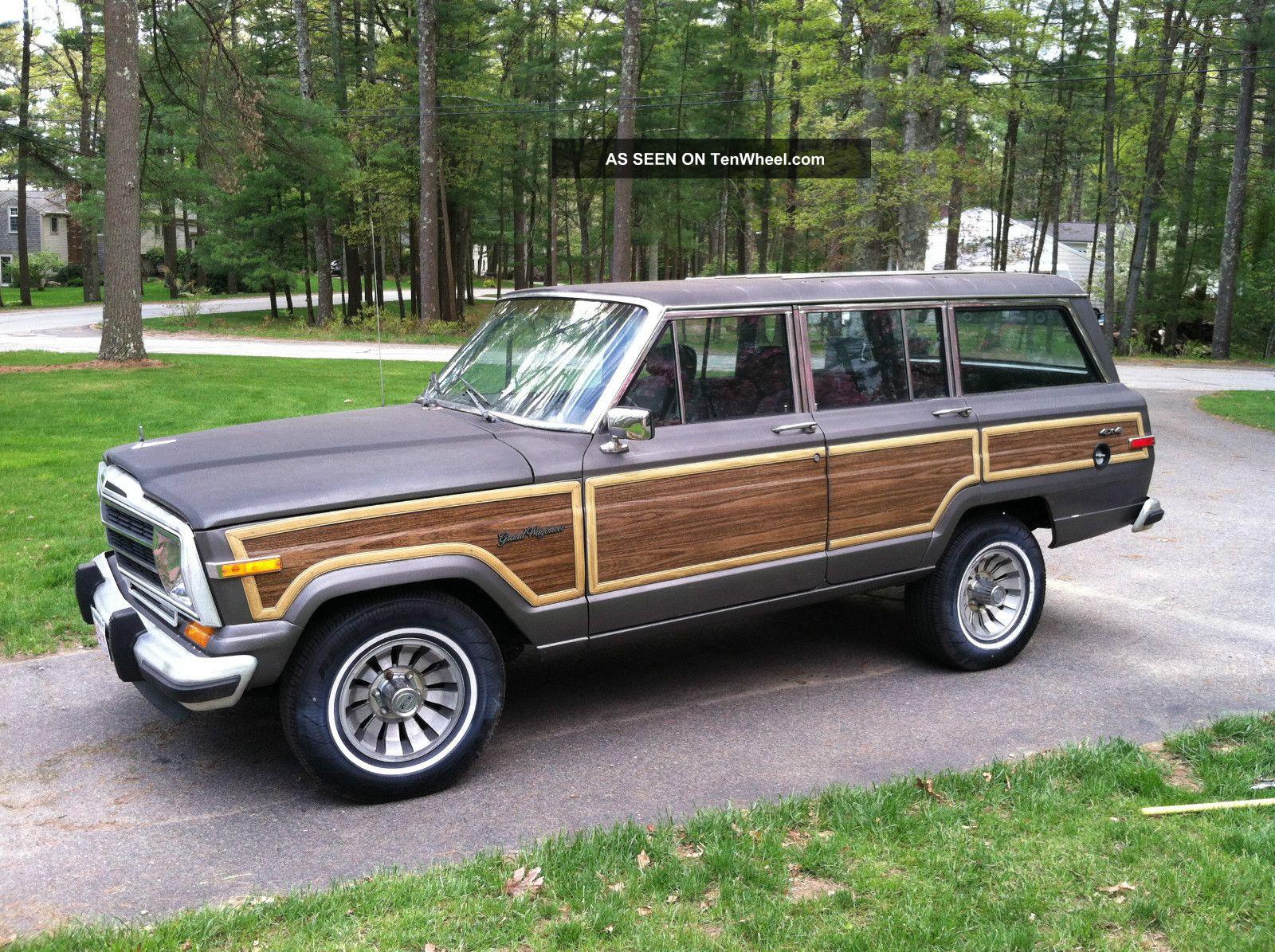 30676 1987_jeep_grand_wagoneeron 1987 Ford Bronco Ii