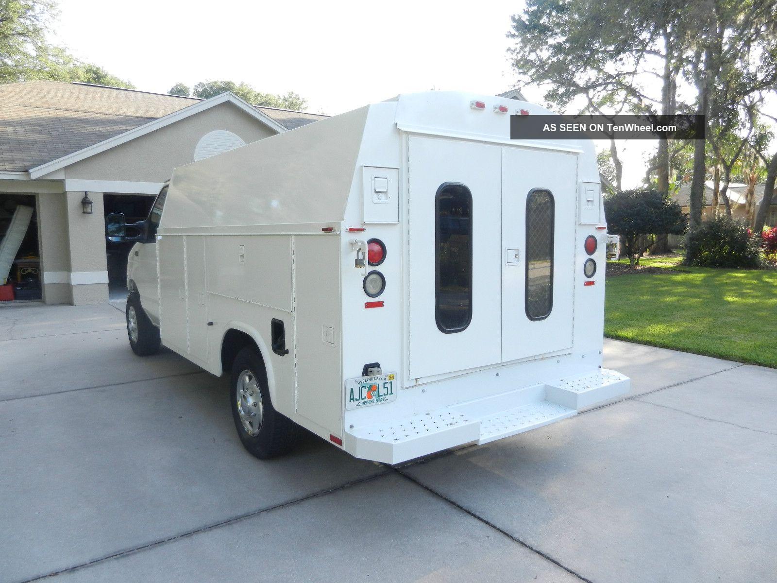 2004 ford e 350 kuv knapheide cutaway service utility truck. Black Bedroom Furniture Sets. Home Design Ideas