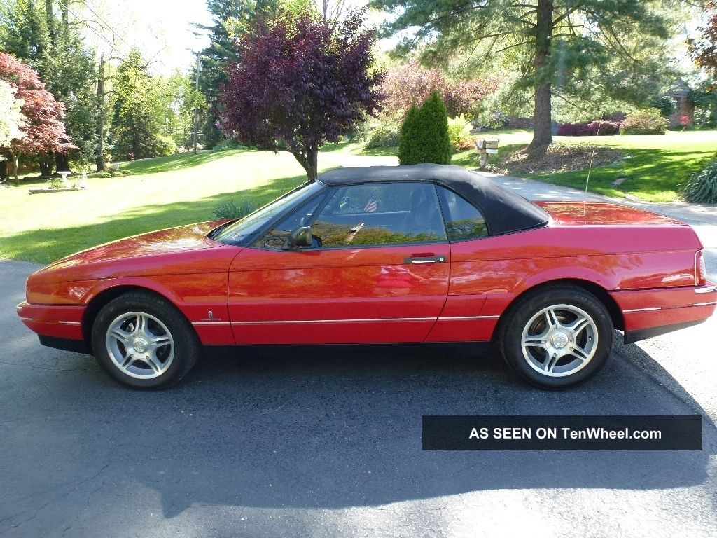 1991 Cadillac Allante Base Convertible 2 - Door 4.  5l Allante photo