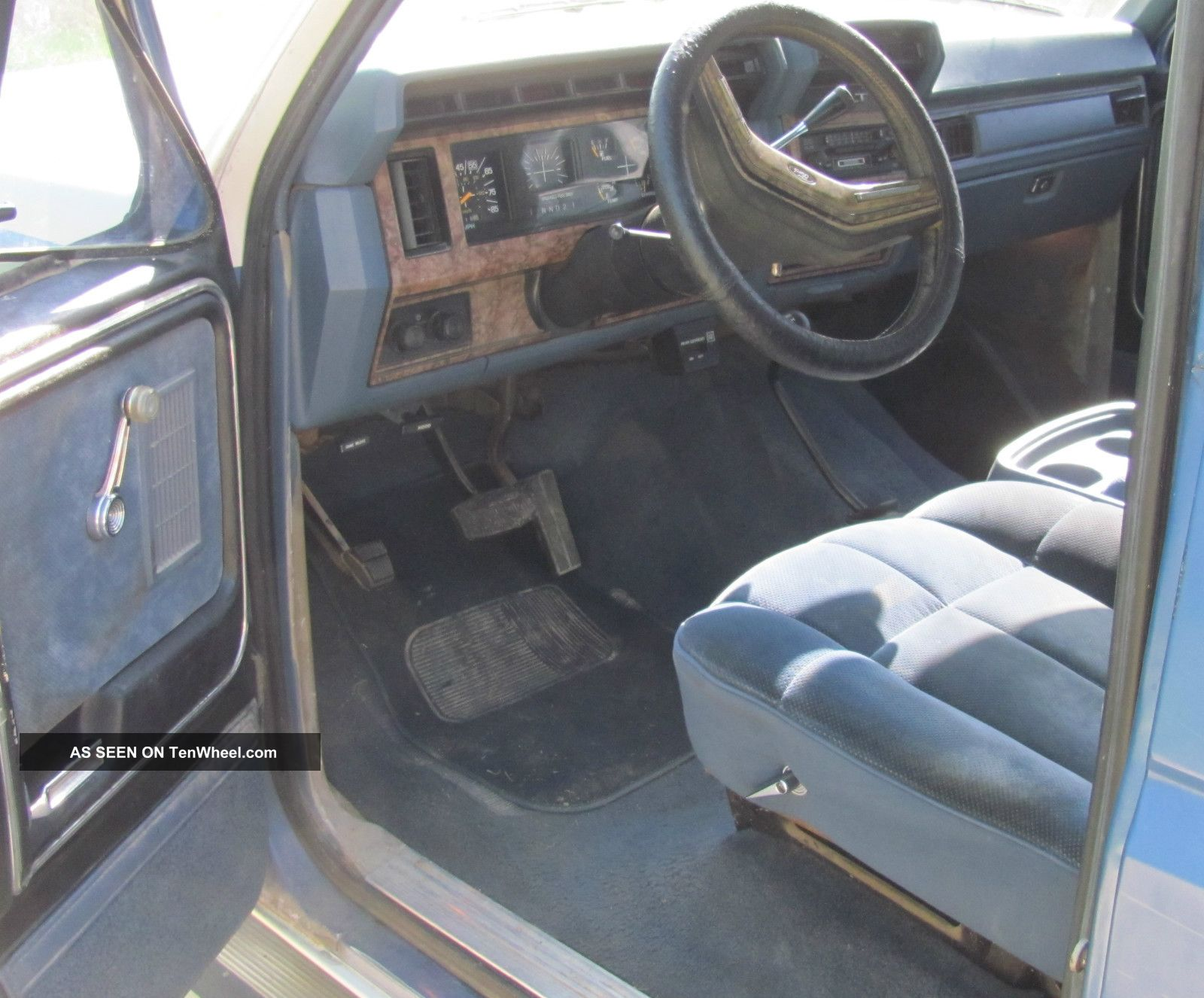 1985 Ford Bronco Interior 1985 Ford Bronco 4x4