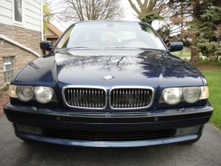 2001 Bmw 740il photo