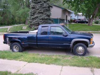 1998 Chevrolet K3500 Silverado Extended Cab Pickup 2 - Door 7.  4l photo
