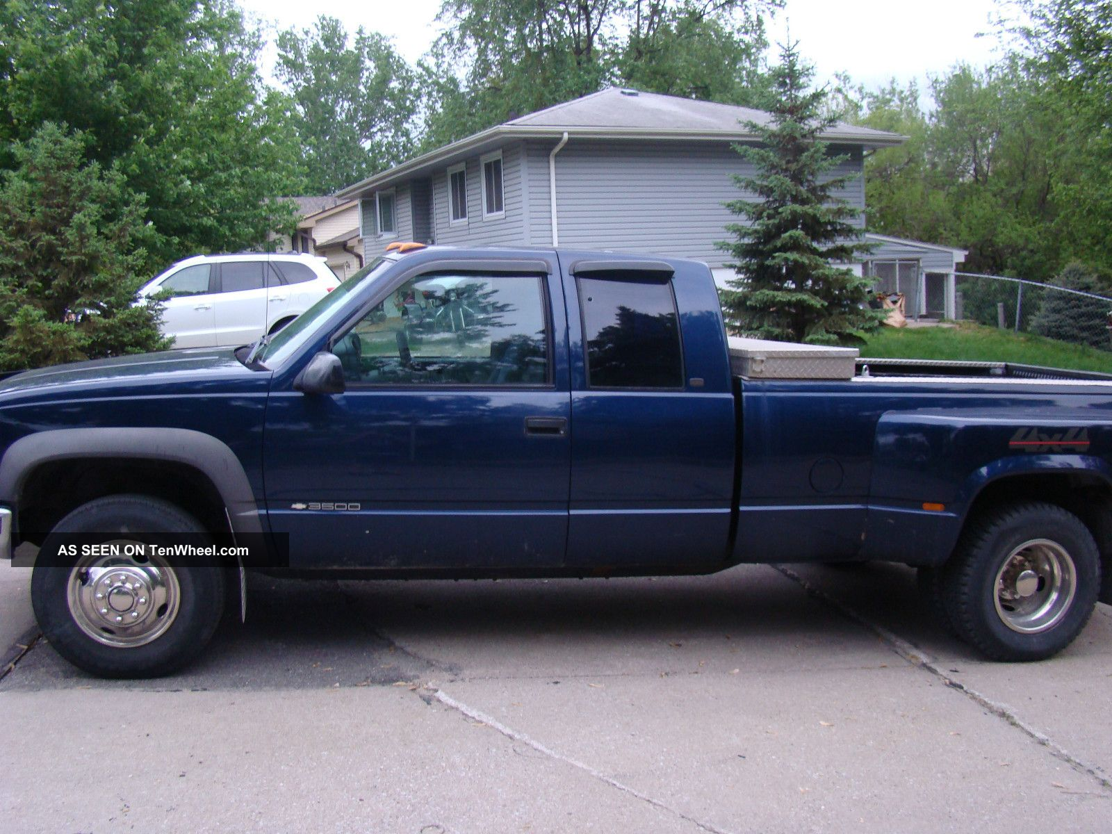 1998 chevrolet k3500 silverado extended cab pickup 2 door 7 4l. Black Bedroom Furniture Sets. Home Design Ideas